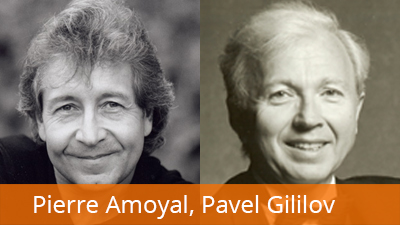 Pierre Amoyal, husle Pavel Gililov, husle