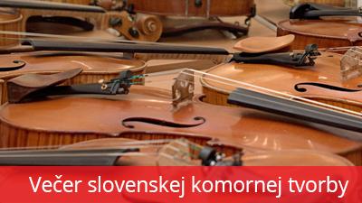 Večer slovenskej komornej tvorby