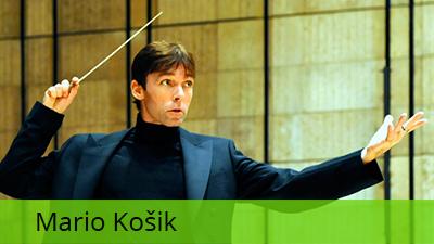 Mario Košik, dirigent