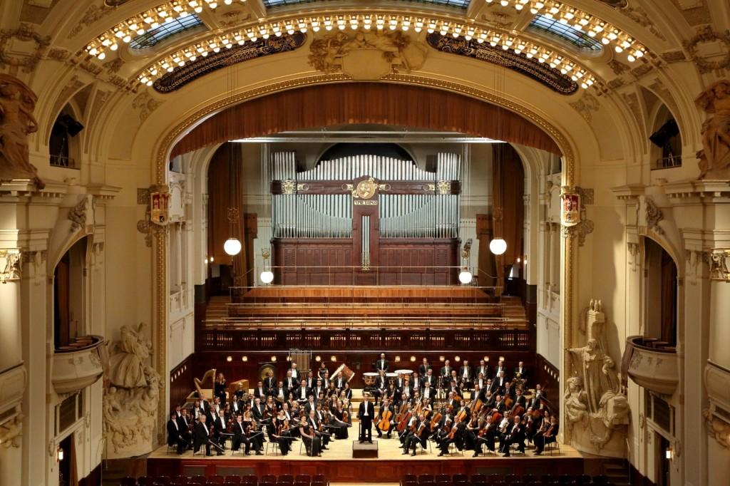 Symfonický orchester hlavného mesta Prahy FOK foto © Jan Kolman