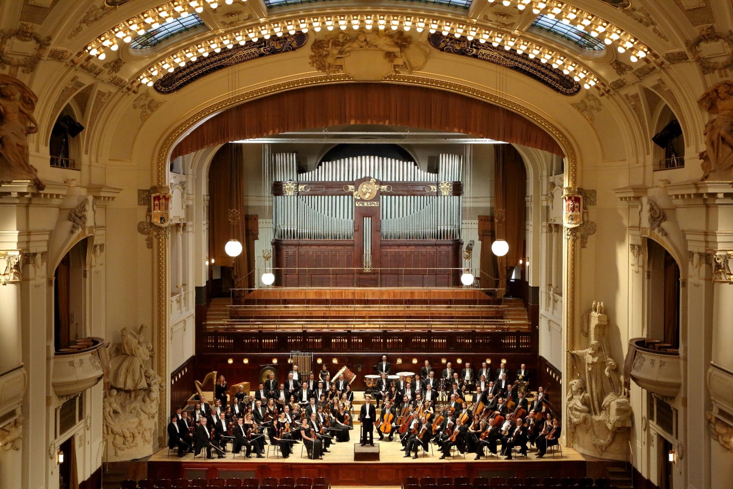 Symfonický orchester hlavného mesta Prahy FOK foto Jan Kolman