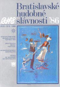 BHS plagát 1986