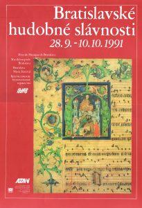 BHS plagát 1991