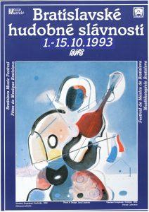 BHS plagát 1993