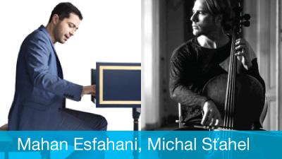 Mahan Esfahani, Michal Sťahel