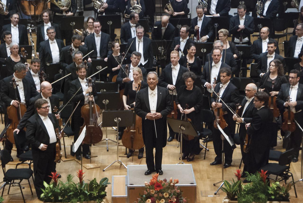 Izraelská filharmónia Zubin Mehta © A. Trizuljak