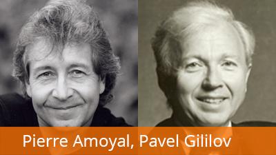 Pierre Amoyal, husle, Pavel Gililov, klavír