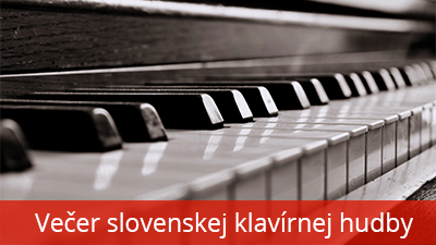 Večer slovenskej klavírnej hudby