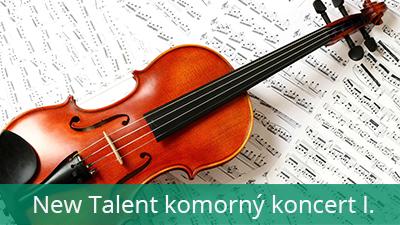 New Talent komorný koncert 1