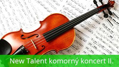 New Talent komorný koncert 2