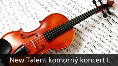 New Talent komorný koncert I.