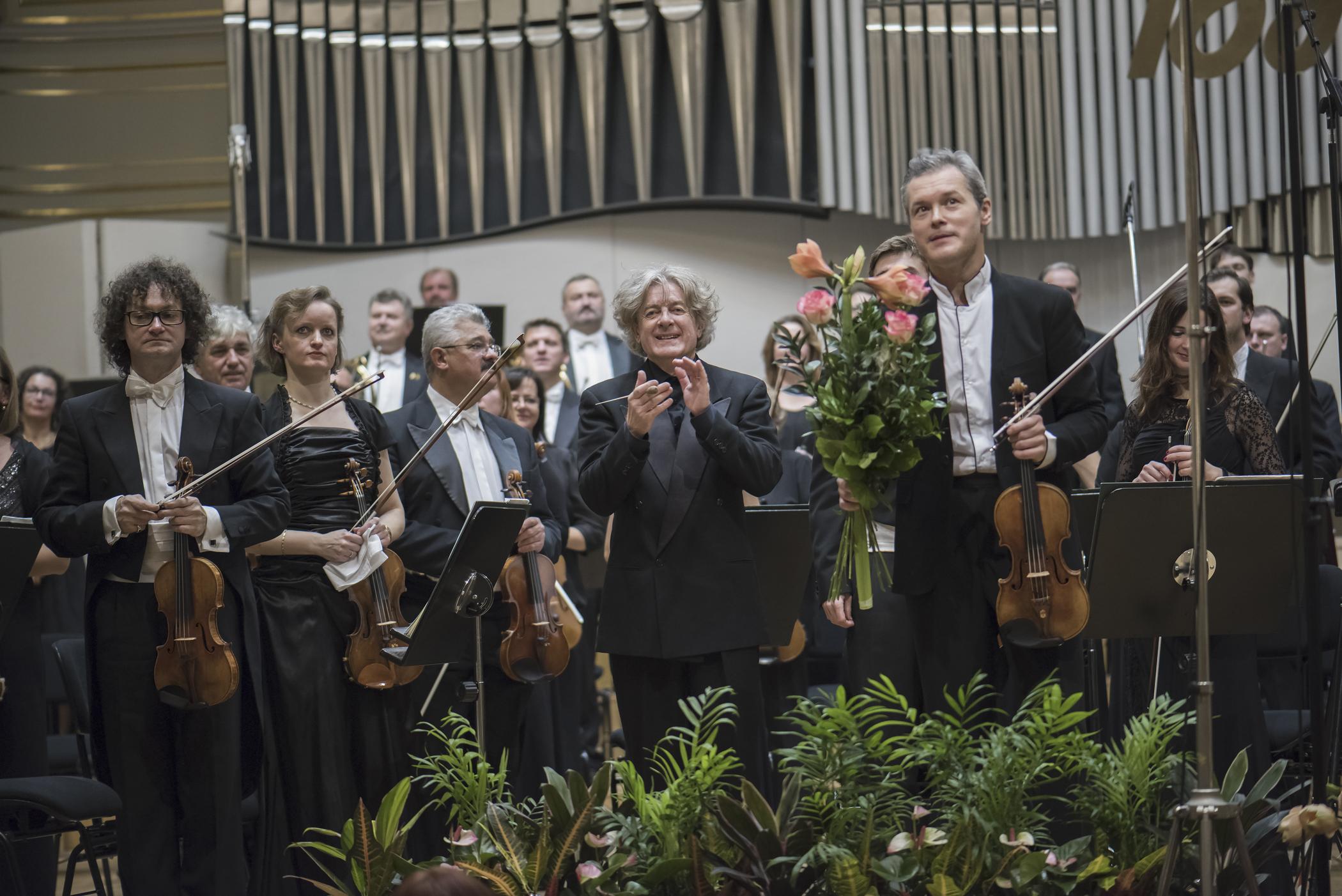 Bratislavské hudobné slávnosti 18. 11. 2006 Otvárací koncert, SF, James Judd, Vadim Repin photo Alexander Trizuljak