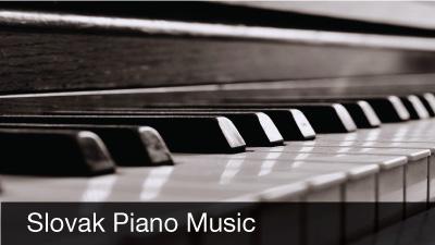 Slovak Piano Music