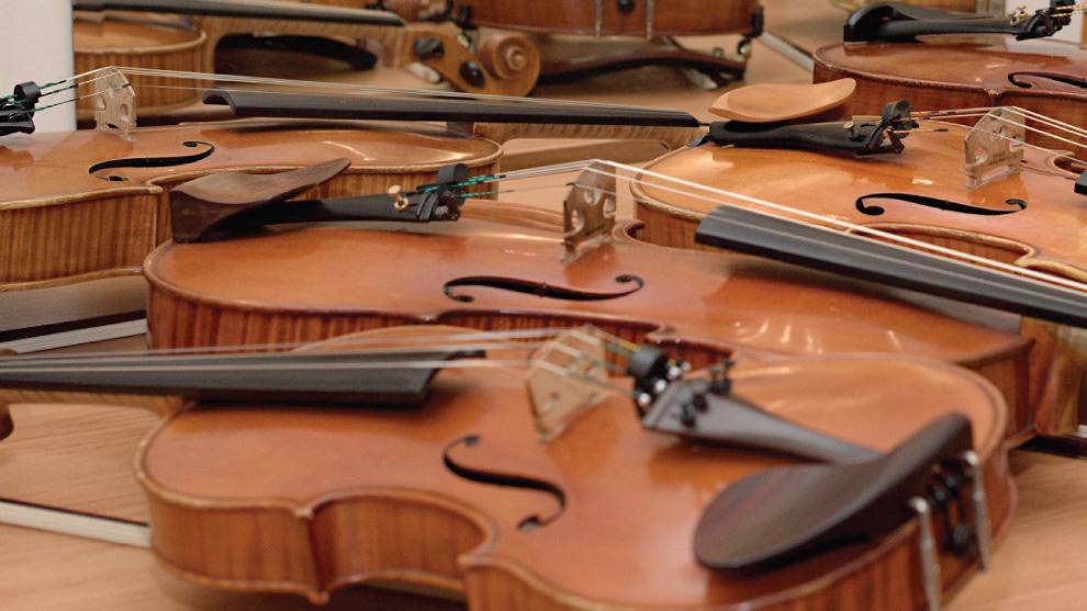 Slovenská tvorba pre husle a klavír