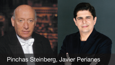 Pinchas Steinberg, Javier Perianes